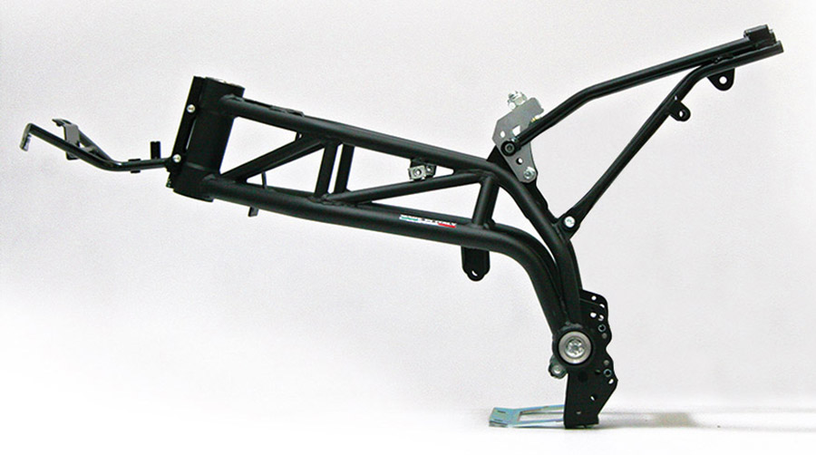 Motorcycle frames